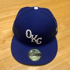 New Era OKC baseball cap hat, size 7
